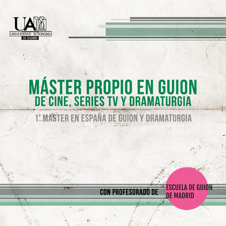 Máster guion, series tv y dramaturgia